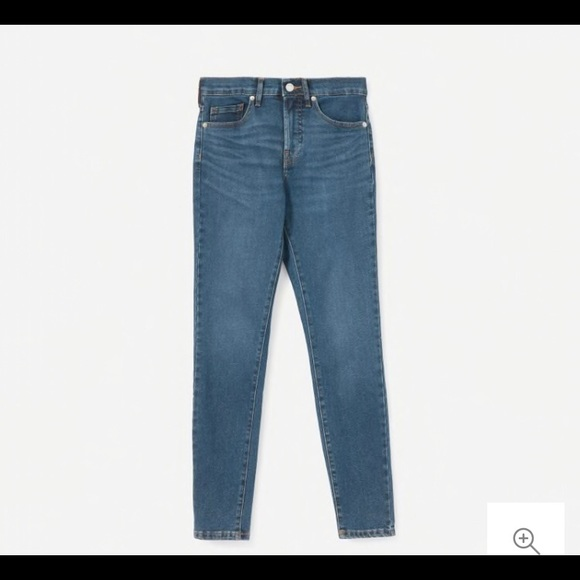 Everlane Denim - Everlane Authentic Stretch Mid Rise Skinny